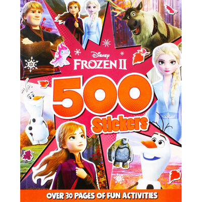 Disney Frozen 2 500 Stickers image number 1