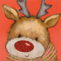 Rudolph Christmas Cards: Pack Of 10