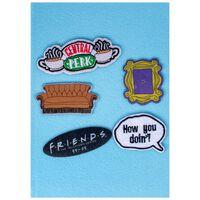 Friends Velcro Notebook