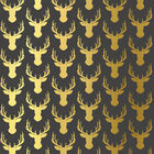 Golden Stags Decoupage Papers - 3 Sheets image number 2