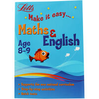 Letts Maths and English: Ages 8-9