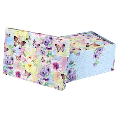 Les Papillons 10 Nested Gift Boxes Set image number 2