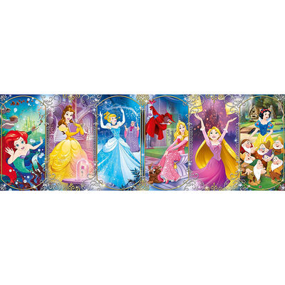Disney Princess Panorama 1000 Piece Jigsaw Puzzle image number 2