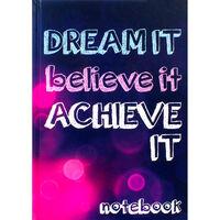 A5 Case Bound Dream It Notebook