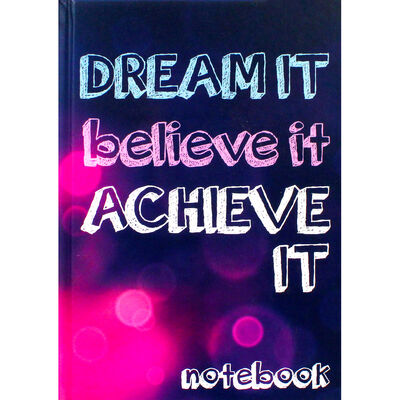 A5 Case Bound Dream It Notebook image number 1