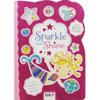 Sparkle and Shine Sticker Activity Book