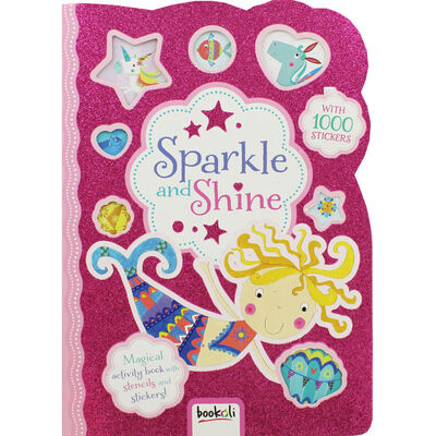 Sparkle and Shine Sticker Activity Book image number 1