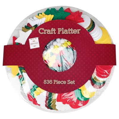 Craft Platter: 836 Pieces