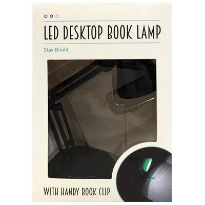 Assorted Mini LED Desktop Book Lamp image number 1