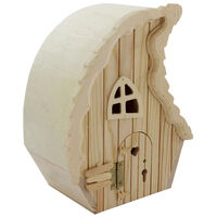 Large Wooden Fairy House