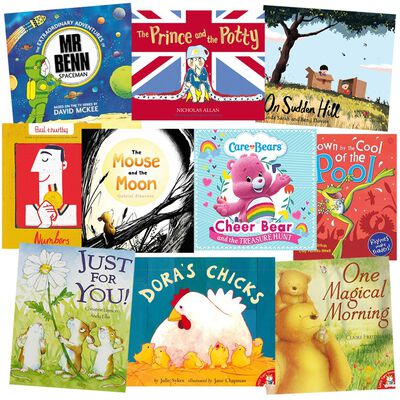 Sleepy-Time Reads: 10 Kids Picture Books Bundle image number 1