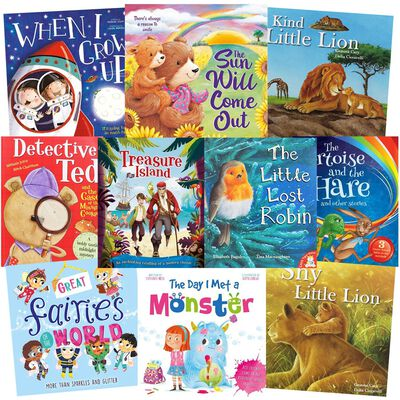 Sweet Story-Times: 10 Kids Picture Books Bundle image number 1