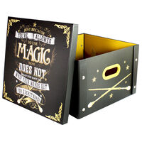 Harry Potter Use Magic Collapsible Storage Box