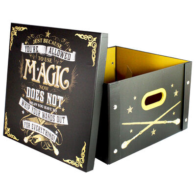 Harry Potter Use Magic Collapsible Storage Box image number 2