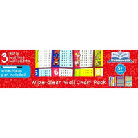 Help With Homework: Wipe-Clean Wall Chart Pack
