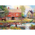 Rural Life 2000 Piece Jigsaw Puzzle image number 2