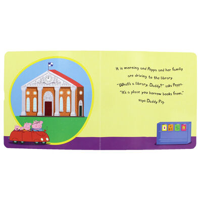 Peppa Pig: Peppa Goes to the Library image number 2