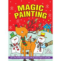 Magic Christmas Painting Book: Assorted