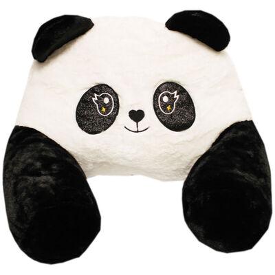 Black White Panda Plush Sofa Snuggles image number 1