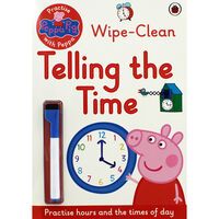 Peppa Pig Wipe-Clean: Telling the Time