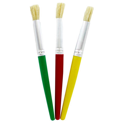 Chunky Paint Brushes - Set Of 3 image number 2