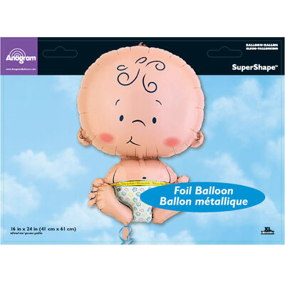 22 Inch Baby Super Shape Helium Balloon image number 2