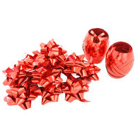 Curling Ribbons And Bows - Assorted