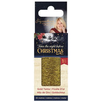 'Twas the Night Before Christmas Gold Twine