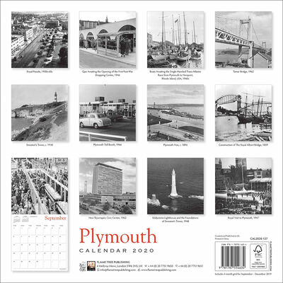 Plymouth Heritage 2020 Wall Calendar image number 3