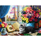 View of Eiffel Tower 500 Piece Jigsaw Puzzle image number 2