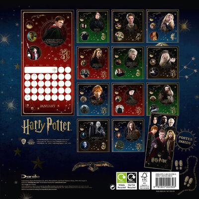 Official Harry Potter 2022 Square Calendar image number 3