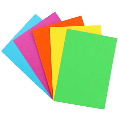 A5 Coloured Card stock - 50 sheets image number 2