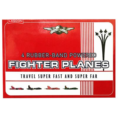 Rubber Band Powered Fighter Plane image number 1