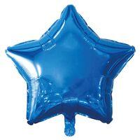 19 Inch Blue Star Helium Balloon