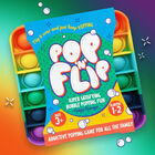 Pop 'N' Flip Bubble Popping Fidget Game: Rainbow Square image number 3