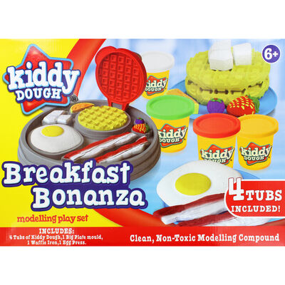 Breakfast Bonanza Modelling Dough Play Set image number 2