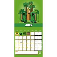 Official Minecraft 2022 Square Calendar
