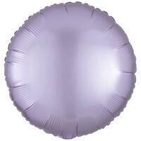 18 Inch Pastel Lilac Round Helium Balloon