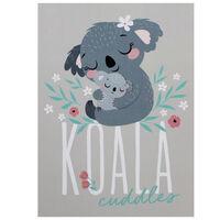 A4 Koala Cuddles Soft Cover Notebook