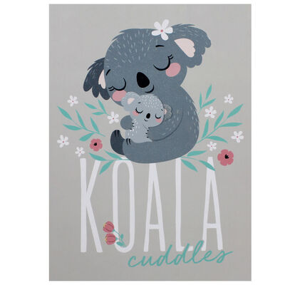 A4 Koala Cuddles Soft Cover Notebook image number 1