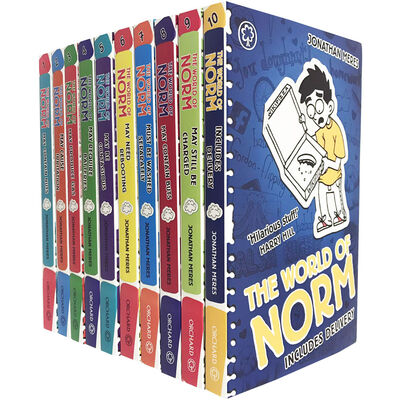 The World of Norm: 10 Book Collection image number 1