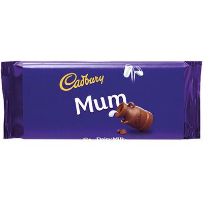 Cadbury Dairy Milk Chocolate Bar 110g - Mum image number 1