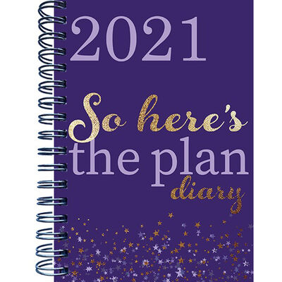 A5 Plan 2021 Week To View Diary image number 1