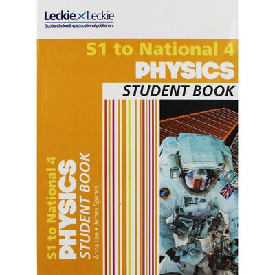 Student Book for SQA Exams: S1 to National 4 Physics image number 1
