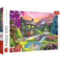 Mountain Idyll 500 Piece Jigsaw Puzzle