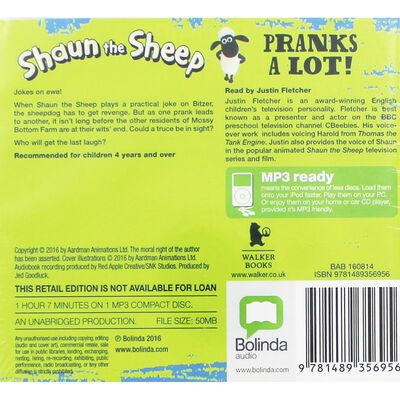 Shaun the Sheep  Tales from Mossy Bottom Farm: MP3 CD image number 2