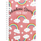 A6 Rainbow Week to View 2020-21 Academic Diary image number 1