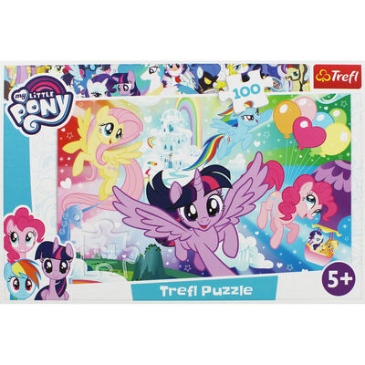 My Little Pony 100 Piece Jigsaw Puzzle image number 2
