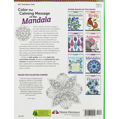 Creative Coloring: Mandala Expressions image number 3