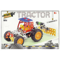 Metal Tractor Model Kit: 132 Pieces